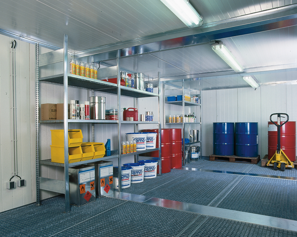 Insulated Hazardous Material Storage Containers Tolkİm